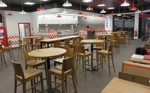 FIVE GUYS RESTAURANT, NOTTINGHAM 2