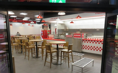 FIVE GUYS RESTAURANT, NOTTINGHAM 3